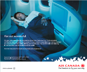 Air Canada- The Freedom to Fly your own way