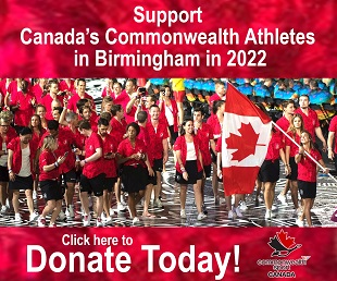 Support Canada's Commonwealth Athletes in Birmingham 2022